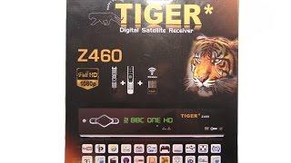Видео обзор спутникового ресивера Tiger Z 460 HD