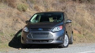 2013 Ford C-MAX Hybrid Drive Review & Road Test