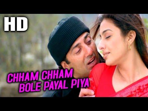 Chham Chham Bole Payal Piya   Udit Narayan, Kavita Krishnamurthy   Maa Tujhhe Salaam Songs   Tabu