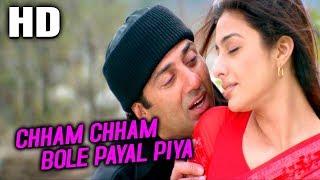 Chham Chham Bole Payal Piya | Udit Narayan, Kavita Krishnamurthy | Maa Tujhhe Salaam Songs | Tabu