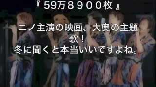 嵐シングル総売上TOP10 (2011年までのランキングです)
