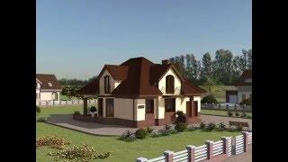 Проект дома с мансардой и гаражом Rg4942(, 2015-12-10T07:29:22.000Z)