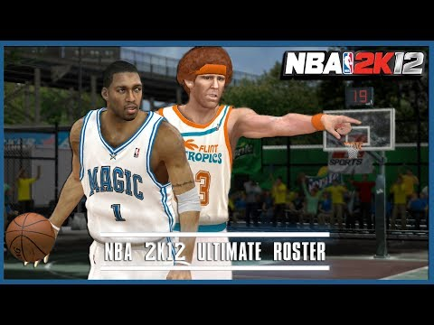 This NBA 2K12 Mod Is Every Basketball Fan's Wildest Dream Come True (Ultimate Base Roster)