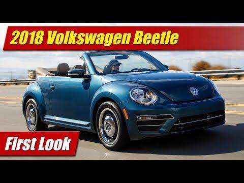 2018 Volkswagen Beetle: What's New