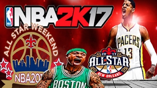NBA 2K14 Update To NBA 2K17 +All Star Weekend 2017
