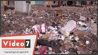 """قرية """"العزيزية"""" من جزء بأقدم عاصمة فى مصر لـ""""بؤرة أوبئة"""" ونفايات يتوسطها البشر"""