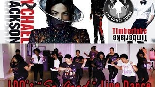 "Michael Jackson & Timberlake Love Never Felt ""So Good Line Dance"""