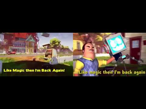 Fandroid V.S Caleb Hyles HELLO NEIGHBOR SONG (GOT OF BEST ON ME)