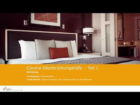 Corona-Überbrückungshilfe: Einführung