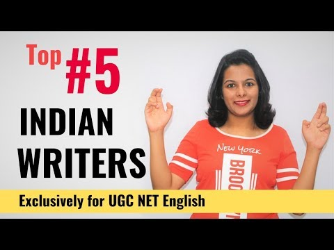 Most Important Indian Writers (Exclusively for UGC NET English Aspirants)