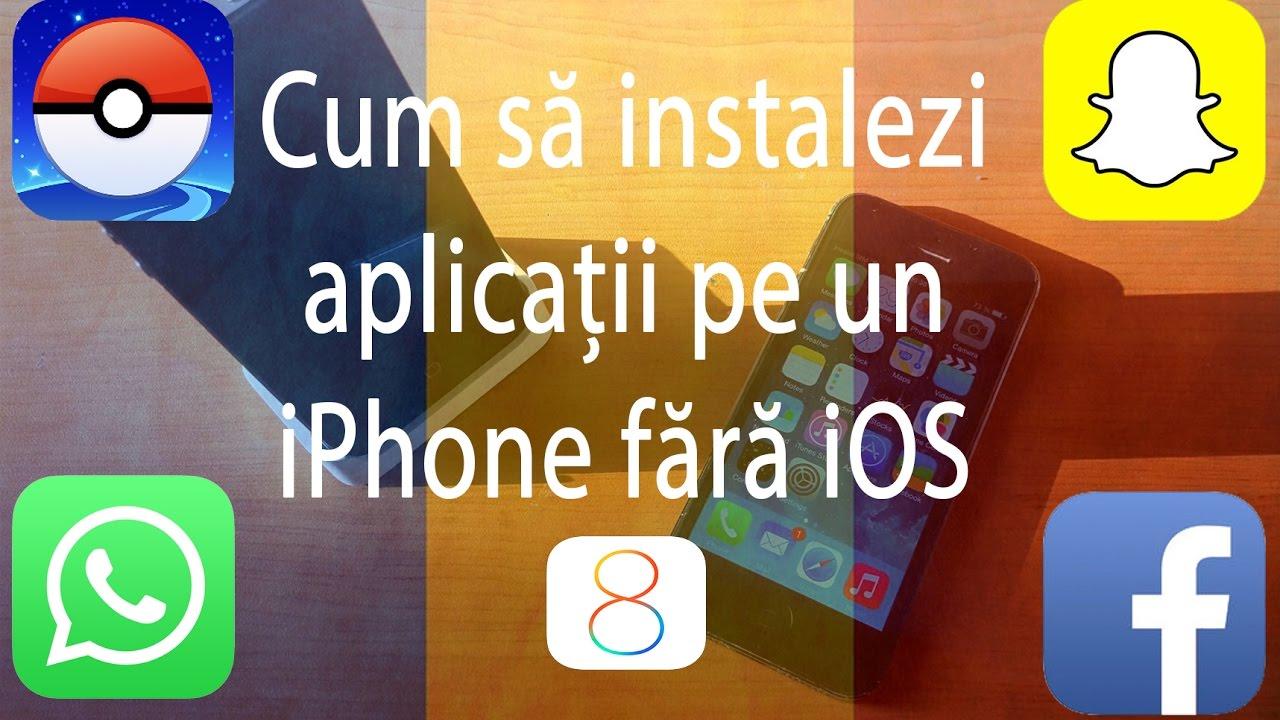 Cum sa descarci aplicatii din appstore fara iOS 8  [ Limba Română ]