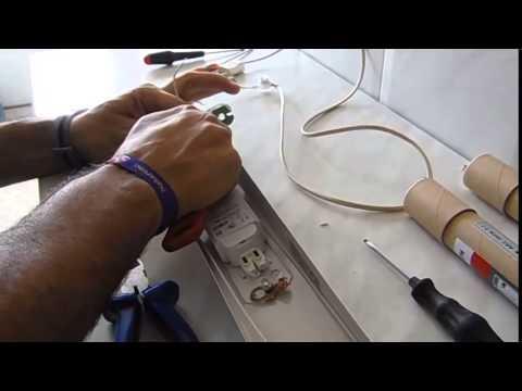 Cambiar tubos fluorescentes a tubos de led en serie youtube - Como instalar lamparas led ...