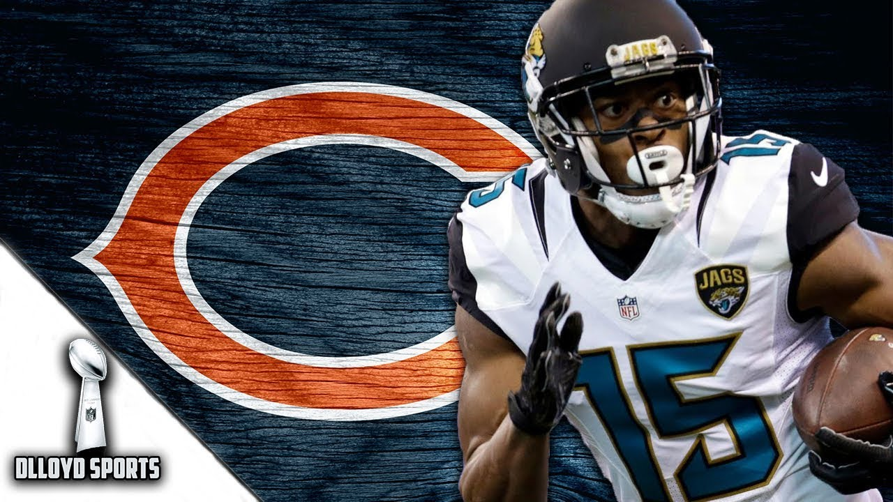 best service bf66a b83dc Chicago Bears Sign Allen Robinson To 3 Year Deal!!! Is He The No. 1 WR They  Needed? | NFL News