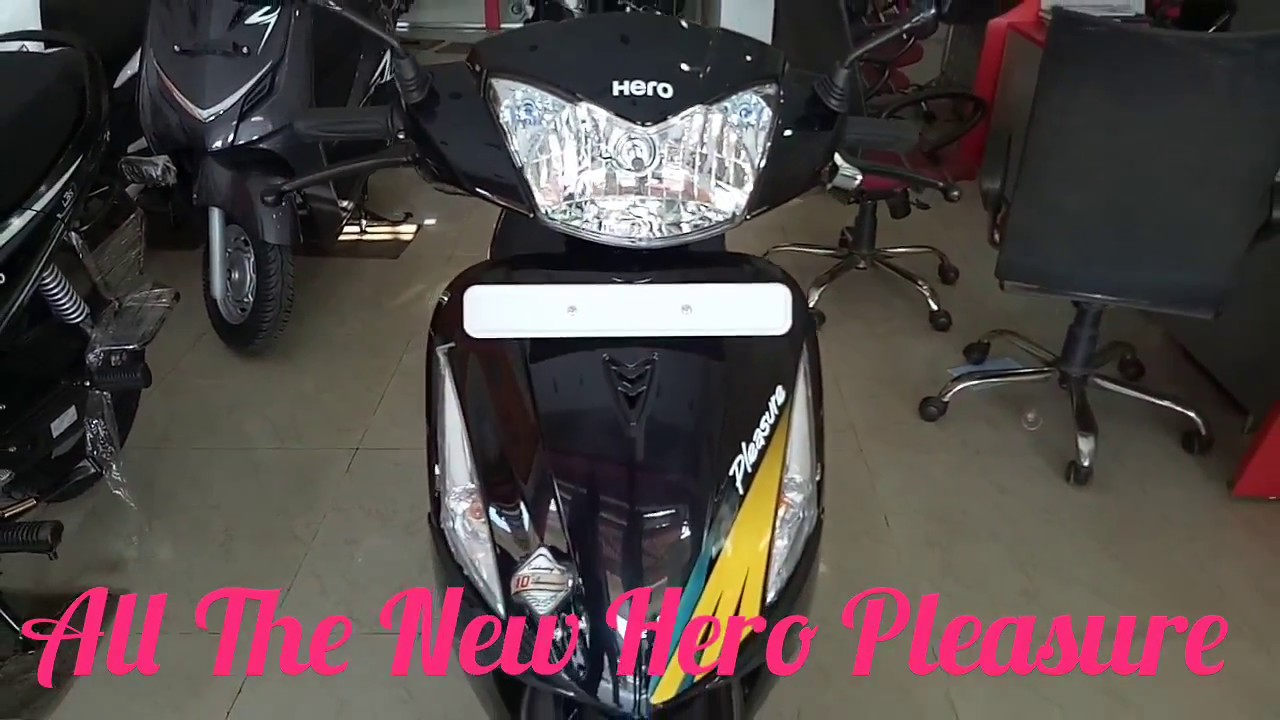 New Hero Pleasure Bs Iv Aho 2017 Edition More Features Youtube