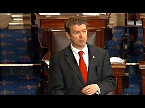 Rand Paul Filibusters Brennan CIA Appointment Over Drone Strikes