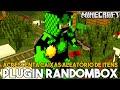 Minecraft Plugin Tutorial RandomBox - Acrescenta caixas aleatório de Itens