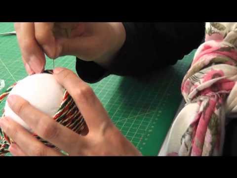 Como hacer bola de navidad youtube - Como hacer pachwork ...