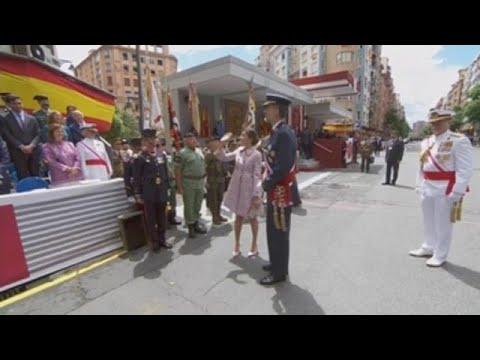 Logroño acoge el desfile de las Fuerzas Armadas