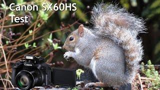 canon SX60 Test Vid