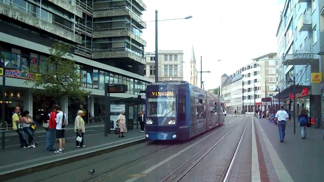 trams in braunschweig germany youtube. Black Bedroom Furniture Sets. Home Design Ideas