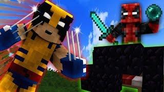 Minecraft WOLVERINE - LOGAN & DEADPOOL Team Up!  (Minecraft Bed Wars Roleplay)