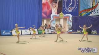 Сапронова Милена групповое выступление 03 03 2017