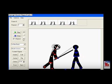 Pivot 3.0 - Phần mềm vẽ hoạt hình , vẽ người que