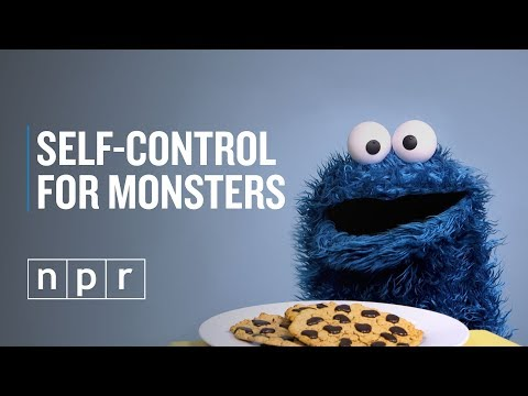 Cookie Monster Practices Self - Regulation | Life Kit Parenting | NPR
