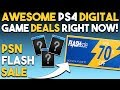 10 AWESOME PSN Flash Sale PS4 Game Deals RIGHT NOW! (PSN Flash Sale 2018)