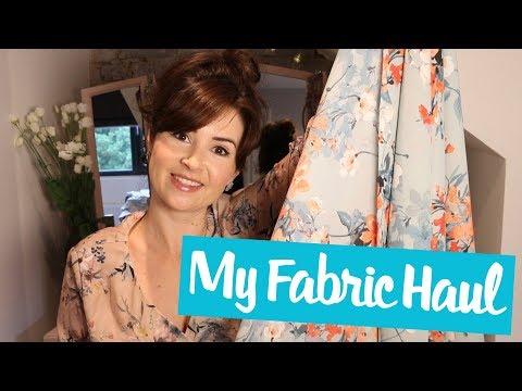 Fabric Haul: August 2017 | Vlog