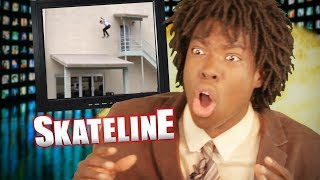 SKATELINE - JAWS Roof Gap! Slappy