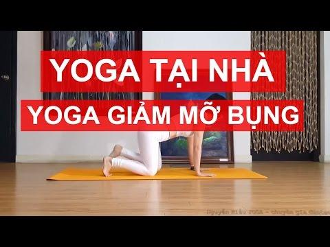 YOGA giảm mỡ bụng tại nhà - Săn chắc vùng bụng trước, tạo độ cong sau lưng cùng Nguyễn Hiếu Yoga