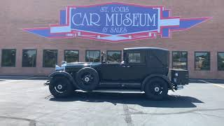 1929 Lincoln Model L Town Car FOR SALE at St Louis Car Museum Sales