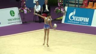 Аюпова Екатерина, мяч, Художественная гимнастика