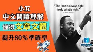 Publication Date: 2019-07-25   Video Title: 【小五中文閱讀理解】主旨題型要分文體!