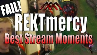 REKTmercy - Best Stream Moments #20 - League of Legends