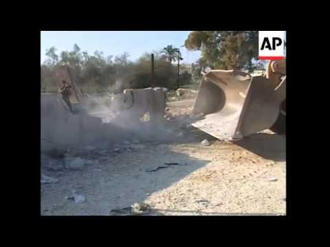 Chaos as Gazans cross border, militant killed in strike buried
