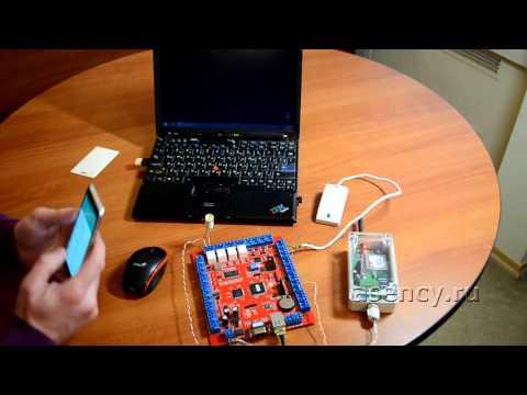 видео: Открываем ворота звонком с мобильного телефона
