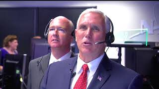 Vice President Pence Visits NASA's Marshall Space Flight Center