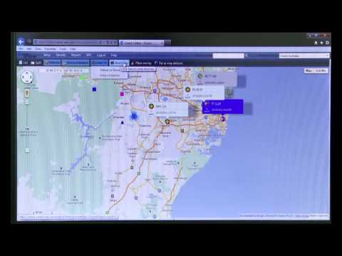 Ctrack Online GPS Tracking Training Video - 1 - Screen Navigation