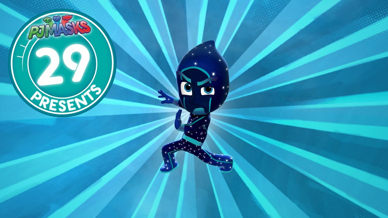pj masks creation 29 night ninja reveals new 2017 youtube