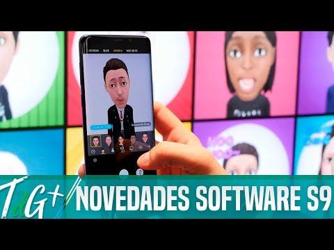 Samsung Galaxy S9 Y S9+: TODAS LAS NOVEDADES DE SOFTWARE