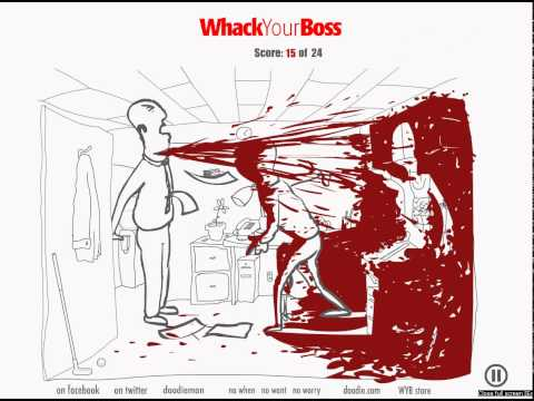 patron dövme whack your boss