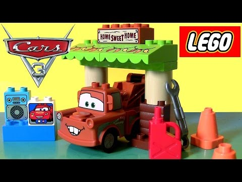 Cars 3 Lego Duplo Maters Shed 2017 From Disney Pixar Cars 3