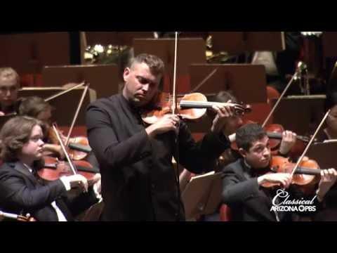 ASU Symphony/Steven Moeckel/Tito Munoz: Beethoven's Violin Concerto in D Major, Mvt. 1