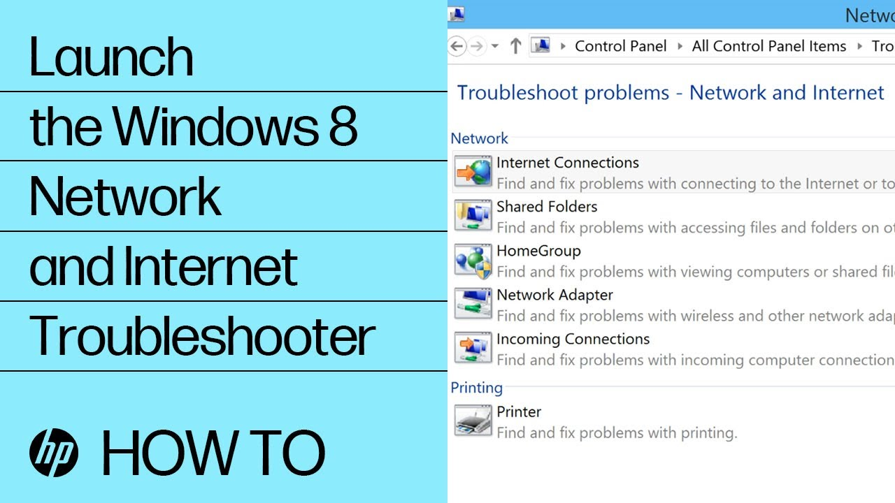 HP PCs   Troubleshooting Wireless Network and Internet Windows 20 ...