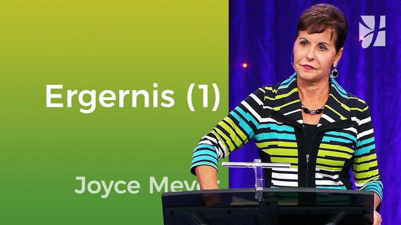 Laat je niet ergeren (1) – Joyce Meyer – Met Jezus in je dagelijks leven