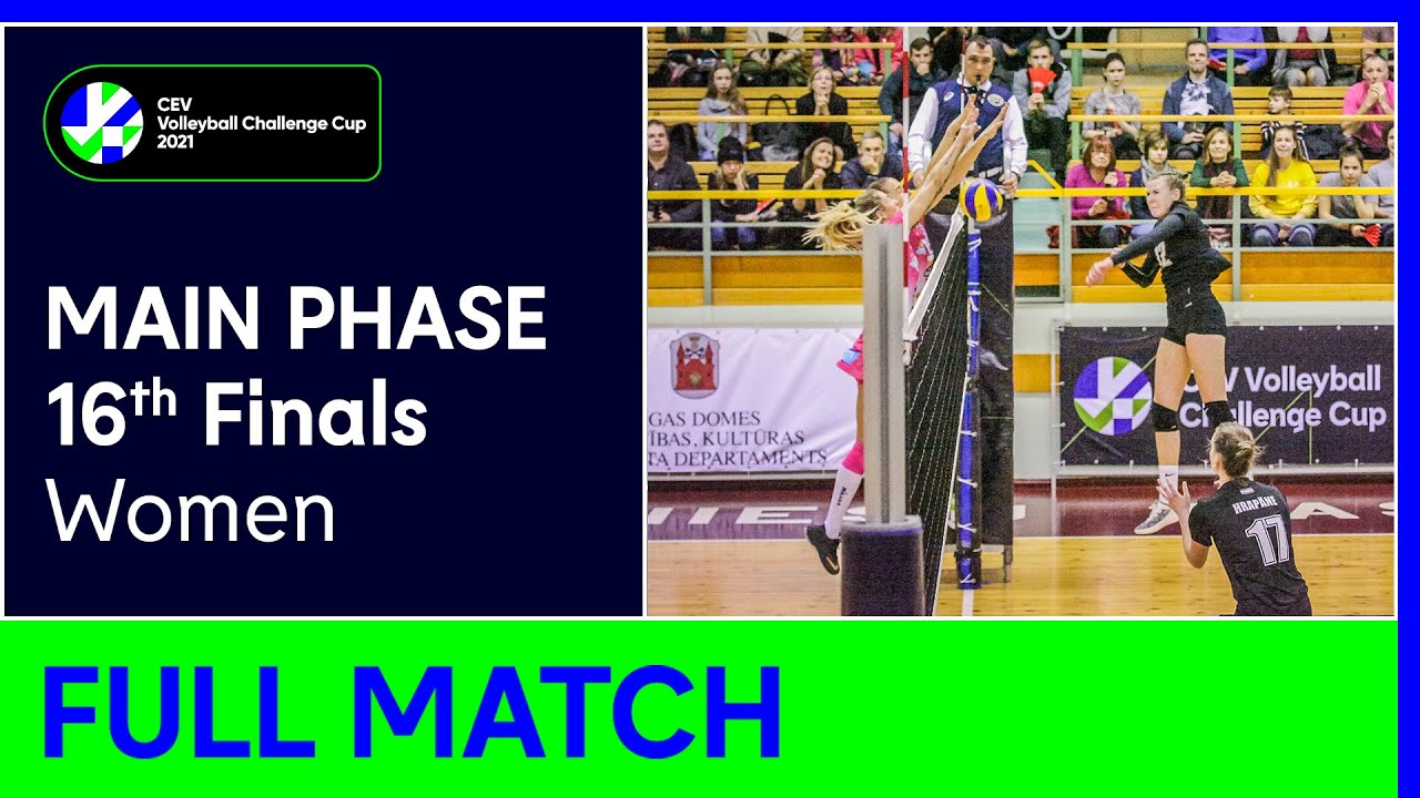 RIGAS Volejbola Skola vs. TJ OSTRAVA - CEV Volleyball Challenge Cup 2021 Women 16th Finals