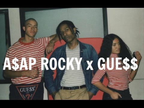 48d6a5b99b ASAP ROCKY x GUESS COLLECTION REVIEW - YouTube