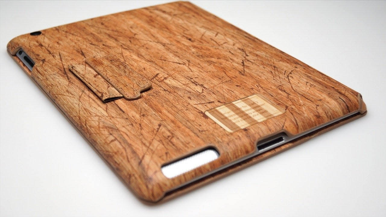 SW-Box Eco-Friendly Wood Case for iPad 2 Review